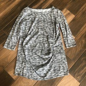 Motherhood Maternity space dye shirt